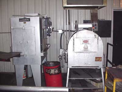 "SECO 6"" X 12"" X 18"", 2400˚ F Heat Treat Furnace"