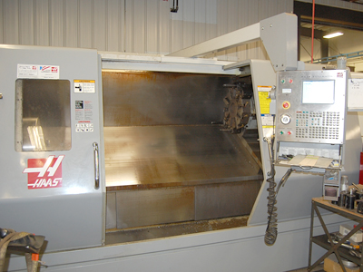 Haas SL-40L CVC Turning Center