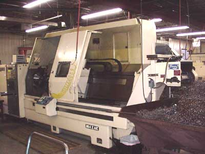 Mazak Slantmaster CNC Turning Center